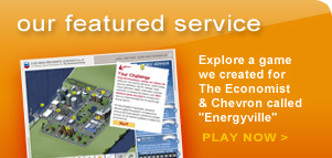 Our featured service - Energyville Game